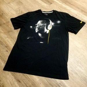 Nike Dri-fit Lebron James Great Shape Lakers Shirt